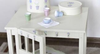 Как сделать детский столик своими руками