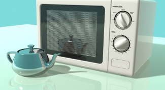 How much energy consumes the microwave