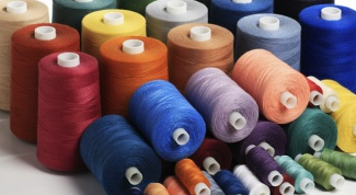 What makes threads for sewing