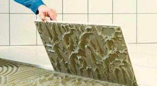 Какой плиточный клей выбрать для ванной комнаты