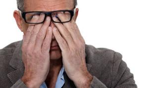 Сухость и жжение в глазах: причины, лечение
