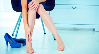 Spots on the feet: the types and possible diseases