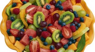 Как сделать фруктовый салат с йогуртом