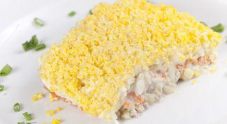 Радость вкуса - салат мимоза