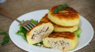 Рецепт приготовления зраз из картофеля с мясом