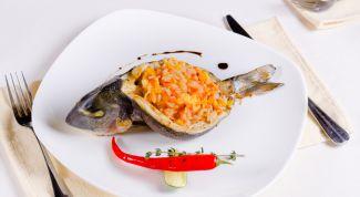 Вкусная рыба, запеченная в духовке