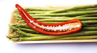Для любителей корейской кухни: острая спаржа