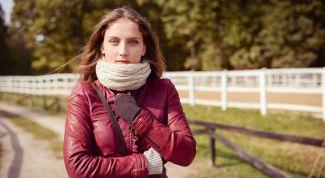 Как завязать шарф на куртку