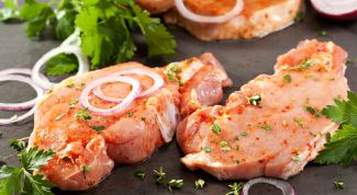 Маринование свинины для запекания