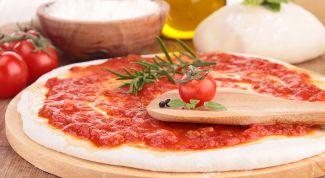 Настоящий итальянский соус для пиццы