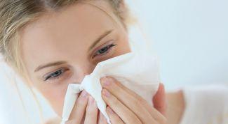 Причины и симптомы заложенности носа