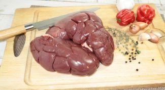 Рецепты блюд из говяжьих почек