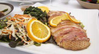 Рецепты блюд из филе утки