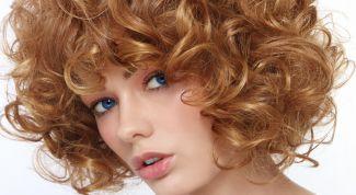 Уход и укладка волос после химической завивки