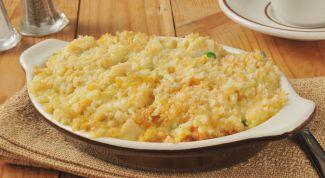 Вкусное вегетарианское блюдо - запеканка из белокочанной капусты