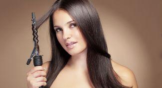 Как накручивать волосы на плойку