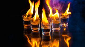 Как правильно пить ликер Самбуку