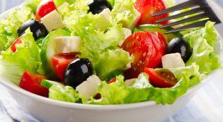 Классический греческий салат: ингредиенты, рецепт, правила приготовления