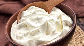 Легкий йогуртовый крем для торта