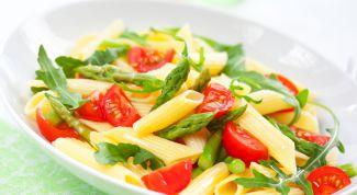 Макароны с овощами - гармония вкуса