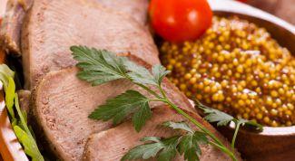 Настоящий деликатес: маринованный говяжий язык