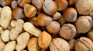 Орехи: виды, состав, полезные свойства