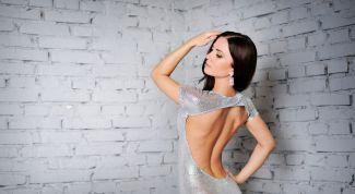 Пошив платья с открытой спиной