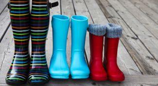 Резиновые сапоги: чистка, правила ухода
