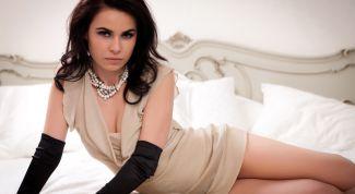 Ретро-стиль: длинные женские перчатки