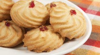 Рецепт рассыпчатого печенья Курабье