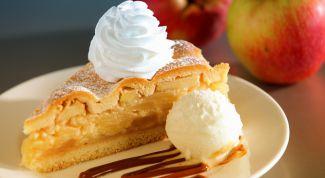 Рецепт яблочного пирога по-французски