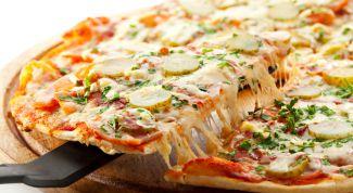 Тонкое тесто - лучшая основа для итальянской пиццы