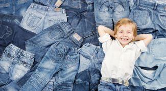 Учимся шить джинсы для ребенка