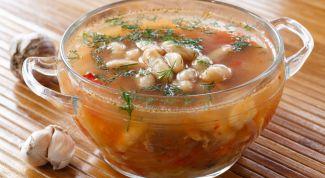 Фасолевый суп с мясом по-арабски - сытно и вкусно. Рецепт с фото