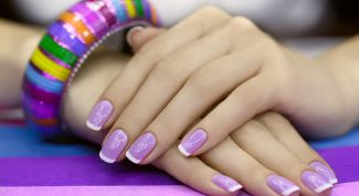 Формирование правильной формы ногтевой пластины