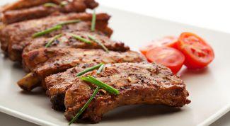 Блюда из жареной свинины