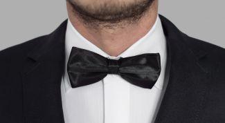 Галстук-бабочка - элегантная деталь к мужскому костюму