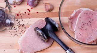 Готовим вкусную свиную отбивную. Проверенные рецепты