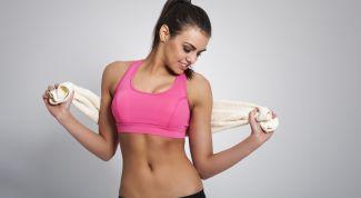 Девушки спортивного телосложения