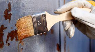 Как удалить краску с металлической поверхности? Способы и материалы
