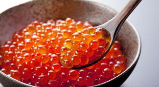 Красная икра: рецепт приготовления