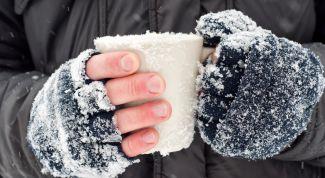 Обморожение: признаки, оказание первой помощи