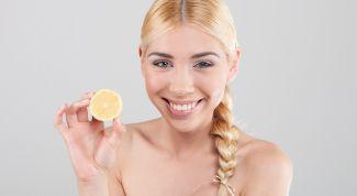 Осветляем волосы. Маска из лимона