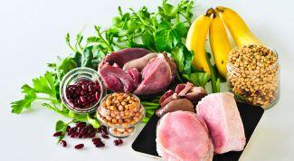 Перечень продуктов с содержанием витамина В