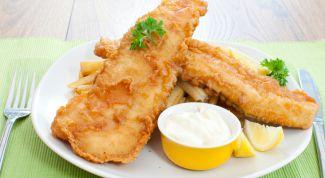 Рецепт: рыба, жаренная в кляре