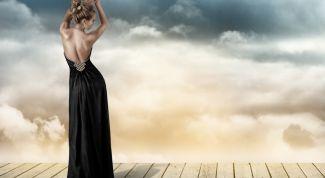 Сексуальное платье с открытой спиной: схема шитья по этапам