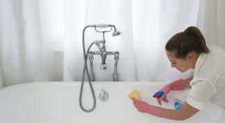 Способы правильного использования чистящих средств для ванной