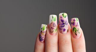 Художественная роспись на ногтях: мастер-класс для начинающих