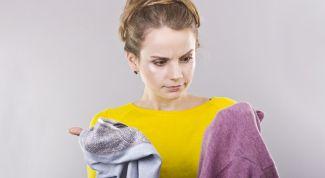 Что делать, если одежда замаралась горячим воском?