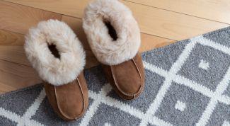 Шитье меховых тапочек. Уютная домашняя обувь своими руками